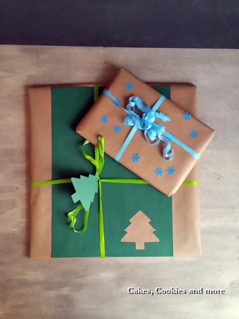 Geschenke aus Pack- und Zeichenpapier