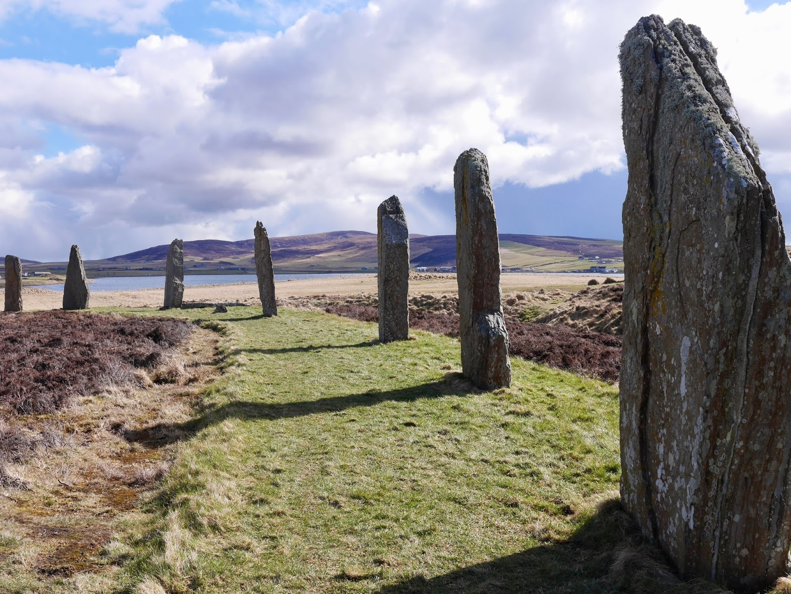 Stones of Strenness Circle, Standing stone circle,  A trip to Orkney by www.CalMcTravels.com, Orkney, Whisky, Beer, Gin