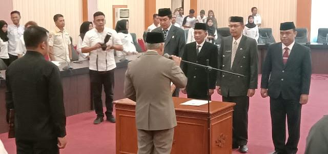 Lantik Empat Pejabat, Wabup Bantaeng: Utamakan Kewajiban Sebelum Menuntut Hak