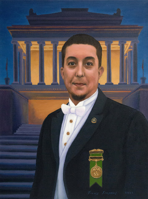 Pillars of Charity. House of the Temple. Supreme Council, 33°. Scottish Rite, SJ. Portrait by Travis Simpkins