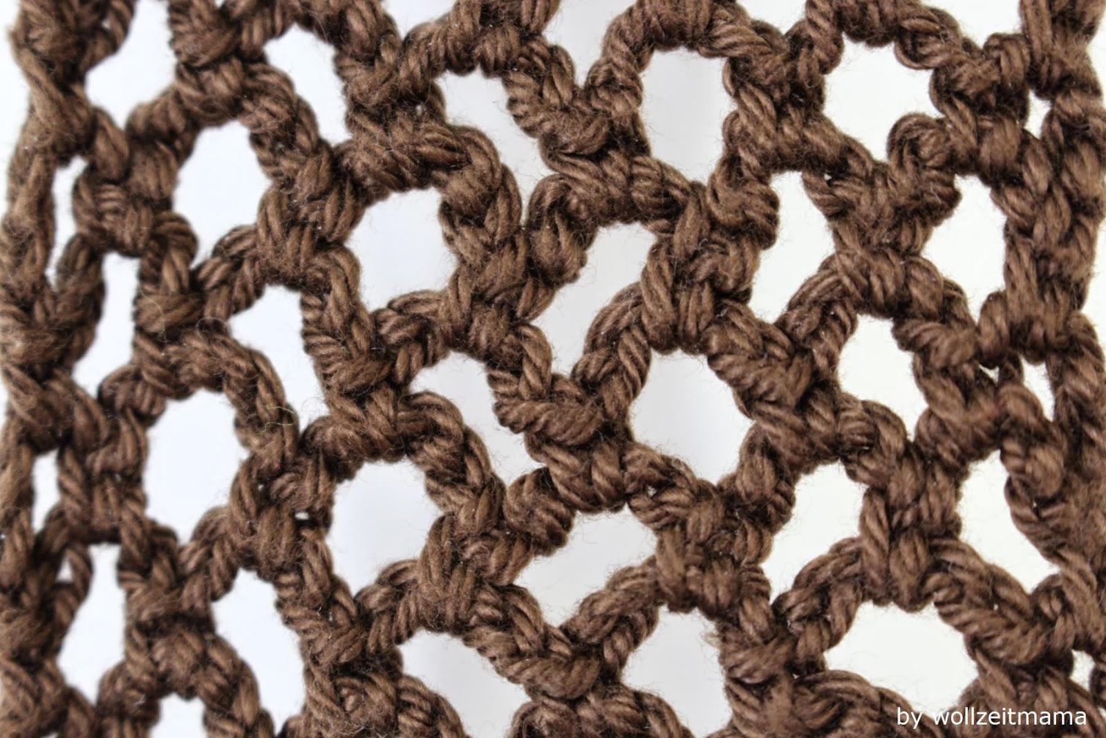 Wollzeitmama Gehäkelter Schal Für Frühjahr Und Sommer