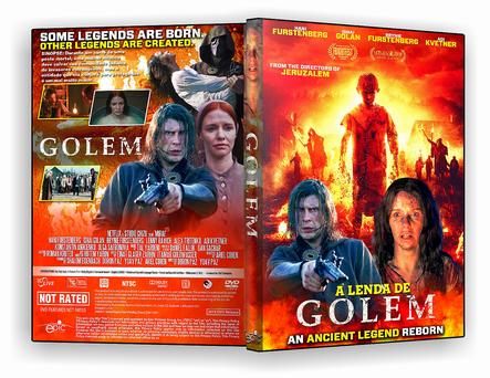 DVD - A Lenda de Golem 2019 - ISO