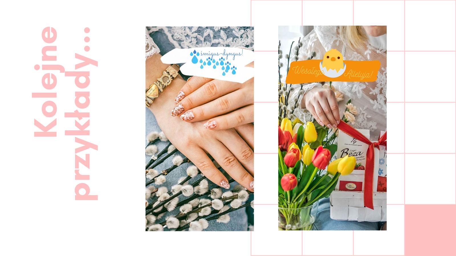 12 darmowe naklejki na instastories kwiaty wielkanoc jak zrobić swoją naklejkę na stories instagram jak wstawiać naklejki na instastory klawiatura swiftkey instrukcja krok po kroku