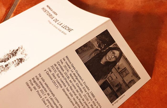 La poeta ecuatoriana Mónica Ojeda en editorial Candaya