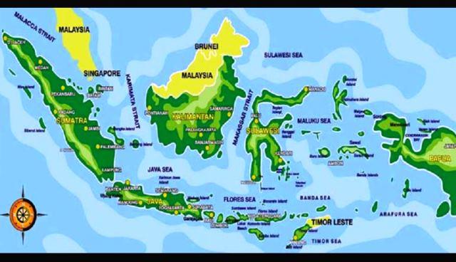 Negara ini memiliki perairan sangat indah dengan luas 3.257.483 km 2. Pengertian Peta Manfaat Dan Unsur Unsurnya
