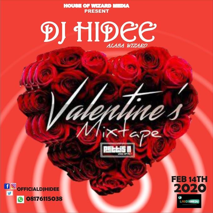 [Mix tape] DJ HIDEE VALENTINE MIXTAPE