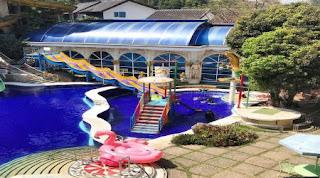 kolam renang hotel grand paradise lembang