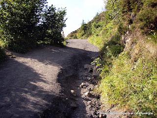 Le Puy-de-Dôme.le chemin des muletiers