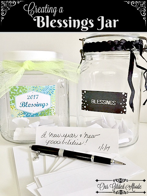 It is an image of Blessings Jar Printable in counting
