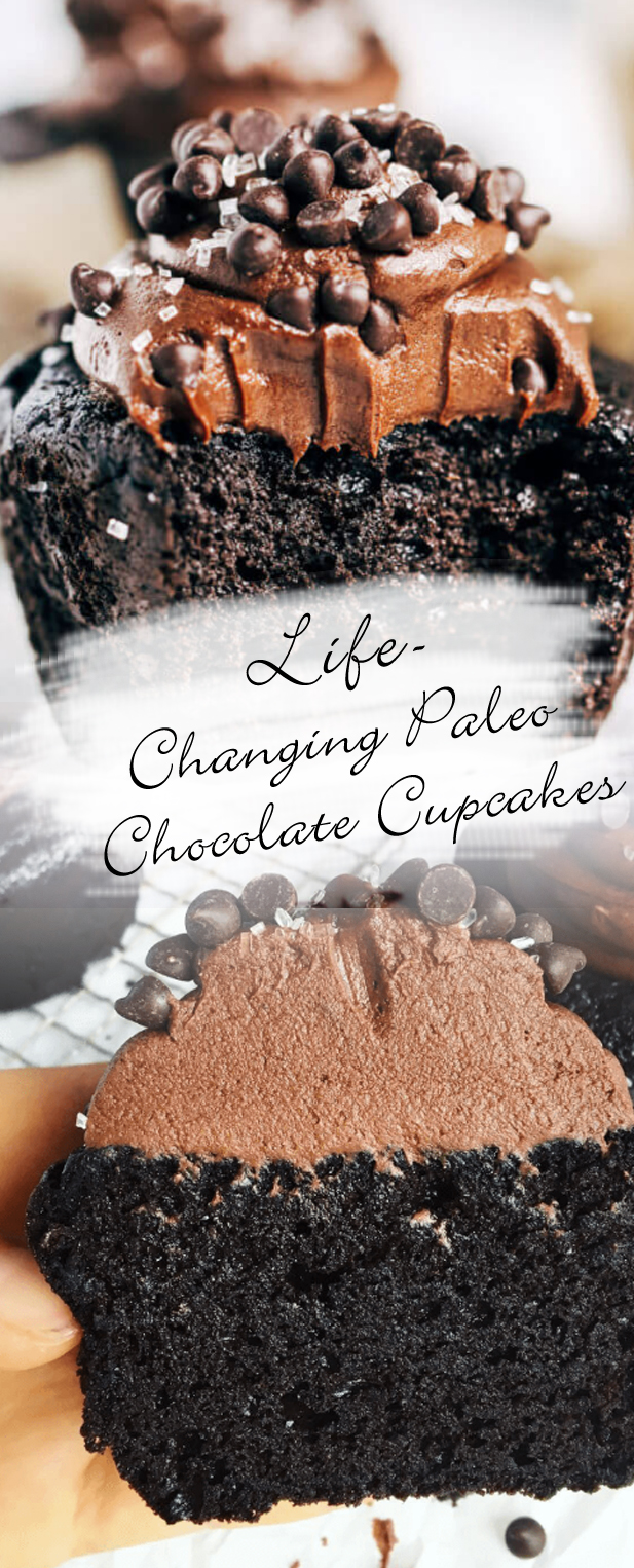 Life-Changing Paleo Chocolate Cupcakes