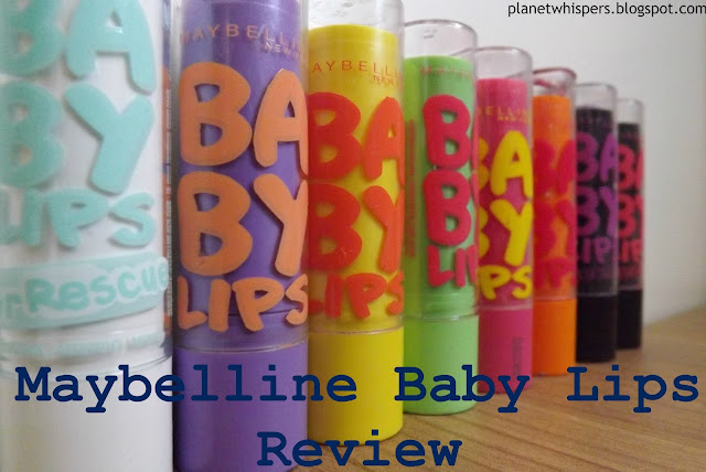 Maybelline Baby Lips- Product Review