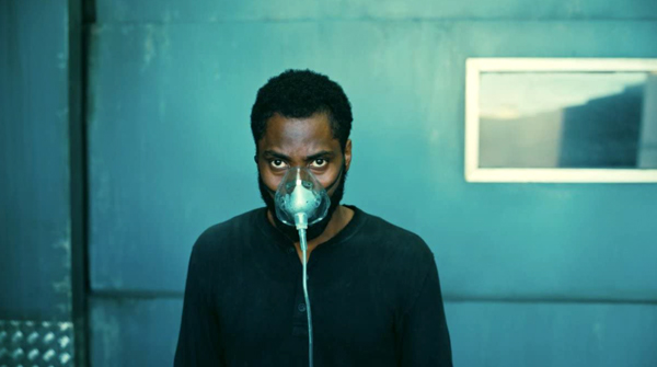 The Protagonist (John David Washington) is about to enter an inverted world in TENET.