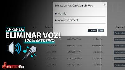 Como Eliminar Voz de Una Canción 100% Efectivo😱