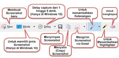 Cara Menggunakan Snipping Tool Untuk Membuat Screenshot Di Laptop