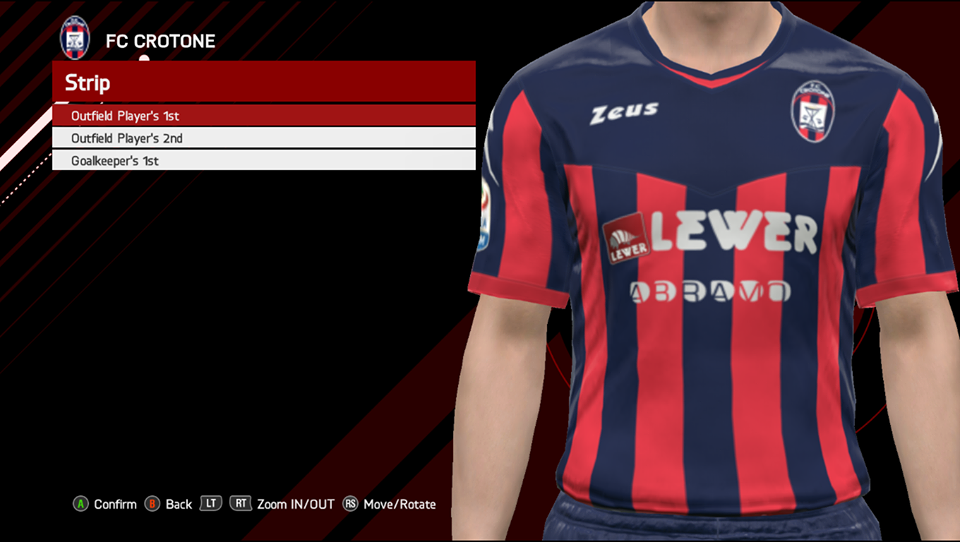 cheap for discount 14f6f a3d19 PES 2017 Serie-A TIM Kits by GE-Evolution Season 2017/2018 ...