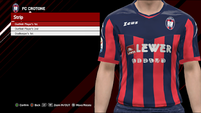PES 2017 Serie-A TIM Kits by GE-Evolution Season 2017/2018