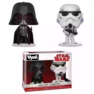 Darth Vader + Stormtrooper