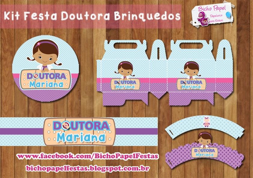 Kit Festa Doutora Brinquedos Para Imprimir