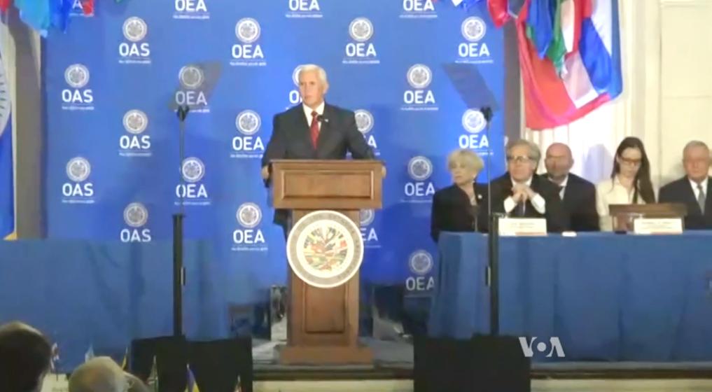EEUU anunció sanciones contra tres funcionarios de Maduro por temas de narcotráfico / VOA