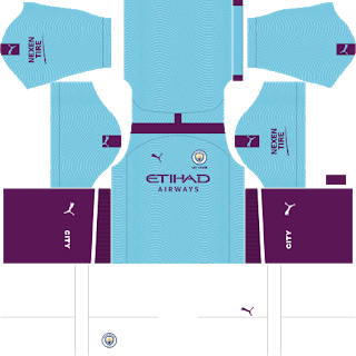 Manchester City Kits DLS 2019