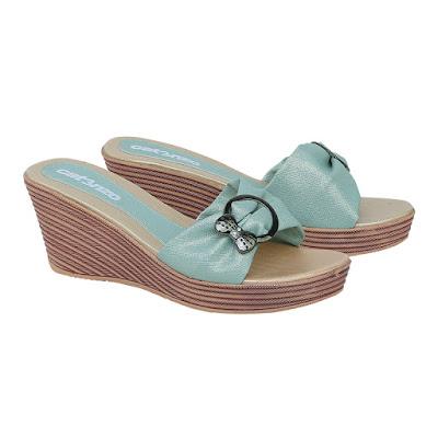 Sandal Wedges Wanita Catenzo ZA 034