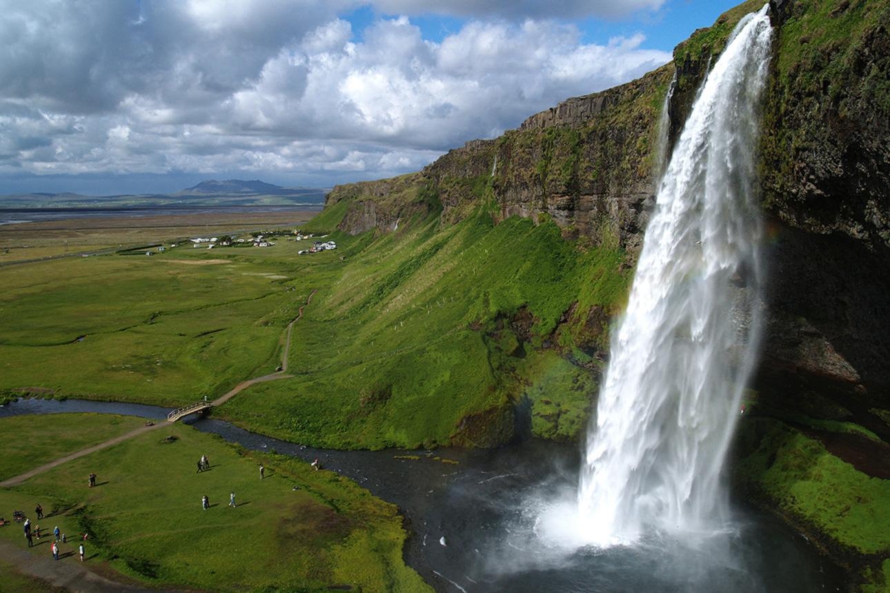 Как добраться до черного пляжа Рейнисфьяра в Исландии