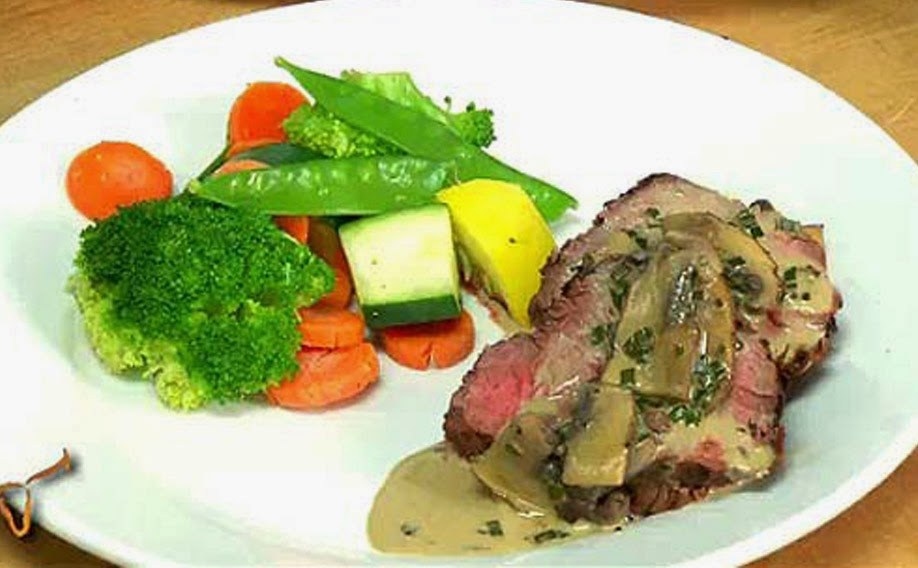 Whole Herb Rubbed Beef Tenderloin Recipe