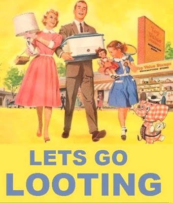 White People - Let's Go Looting