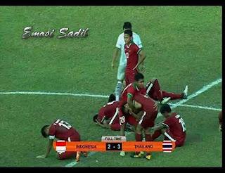 Timnas U-18 Indonesia Hanya Mampu Dikalahkan Dengan Emosi