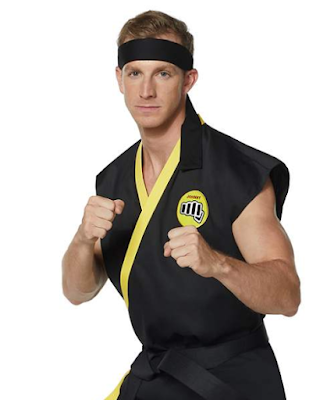 Cobra Kai costume at Spirit Halloween