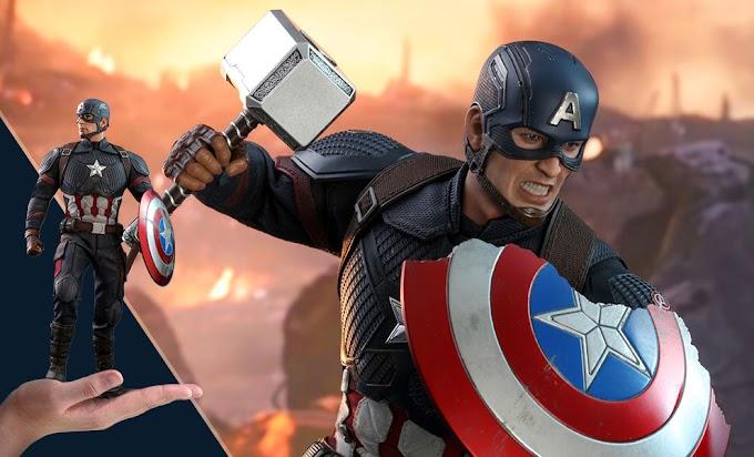 Sorteio Action Figure do Capitão América End Game