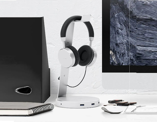 Satechi Aluminum USB Headphone Stand review