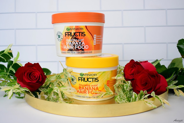 Naturalne maski do włosów Garnier Fructis Hair Food