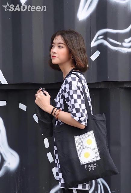 Xinh đẹp 'xuất thần' với bức hình chụp lén của nữ sinh Hà Thành - Ảnh 10