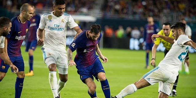 Ver partido Barcelona vs Real Madrid en directo