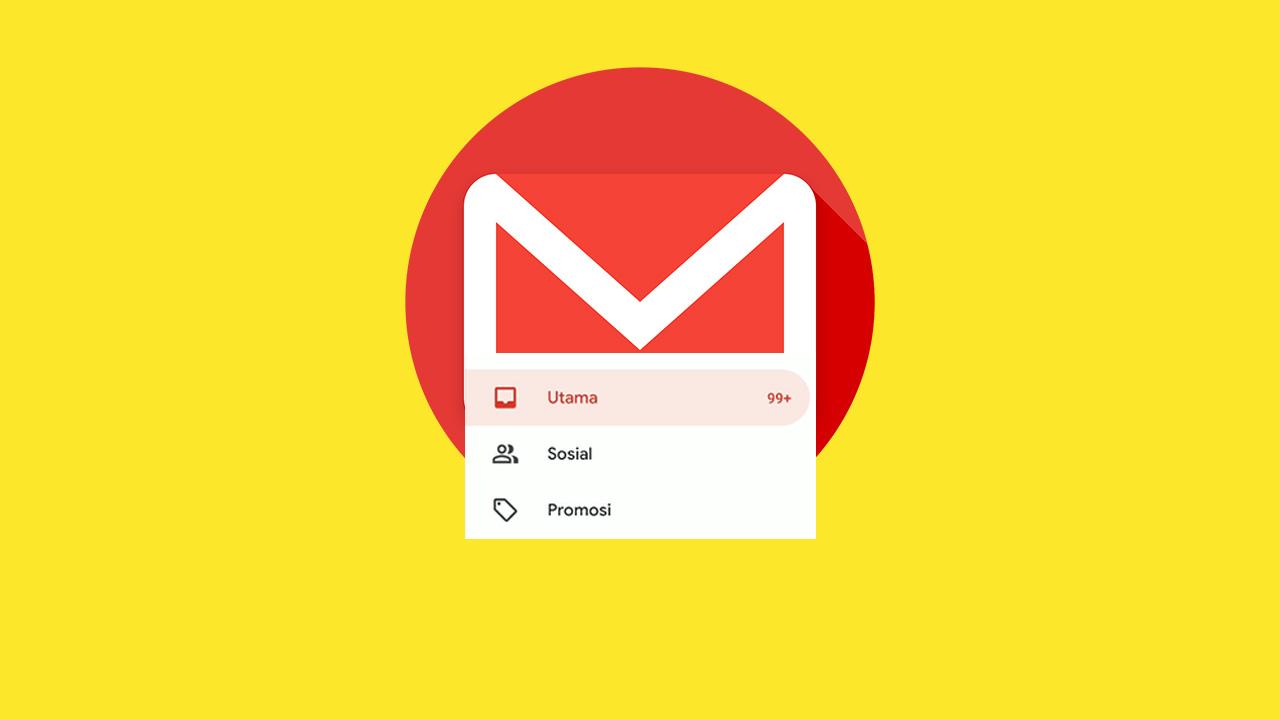 cara menghilangkan kategori kotak masuk gmail