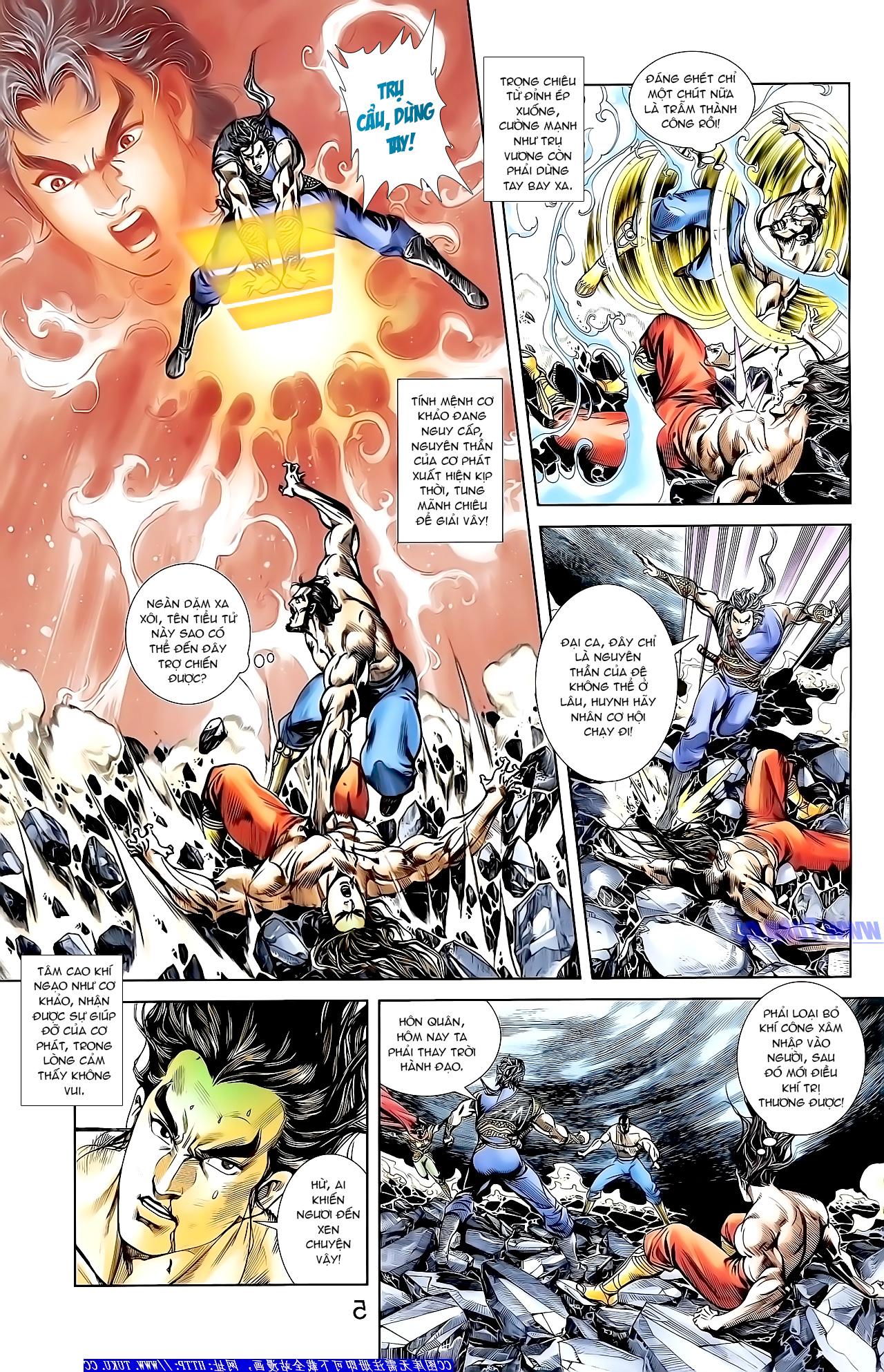 Cơ Phát Khai Chu Bản chapter 149 trang 5