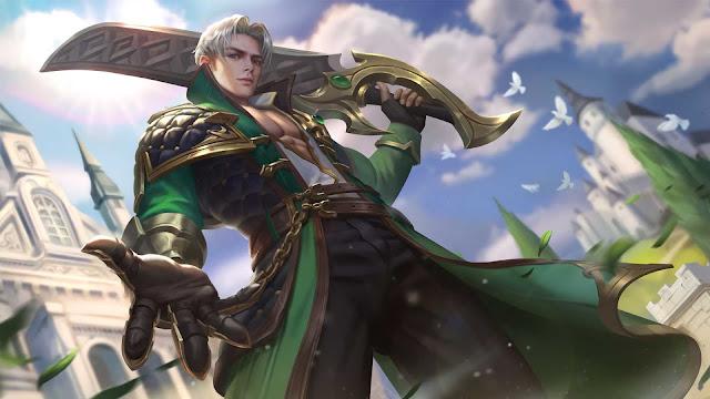 Wallpaper Skin Normal Alucard - Lone Hero (After Revamped)
