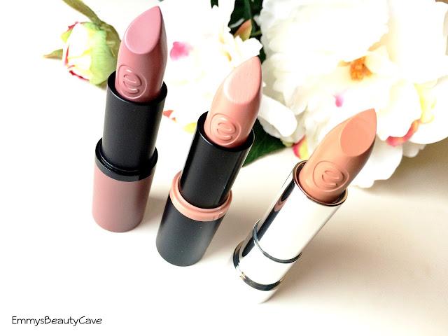 Essence Nude Long Lasting Lipsticks