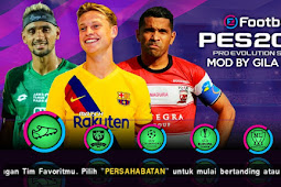 PES 2020 PPSSPP Jogress V3.5 Shopee Liga 1 Indonesia [PPSSPP]