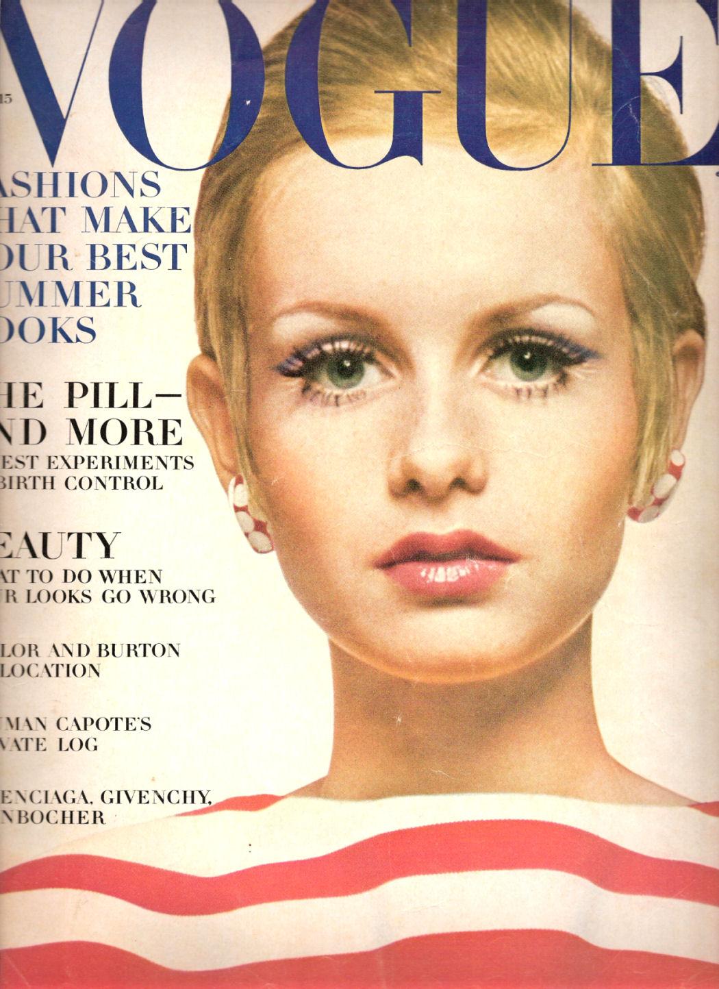 Vogue The Top Selling Fashion Magazine: Giorgadze David's: Twiggy As A Fashion Icon