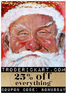 Coupon Code: BONUSDAY 25% off everything troderickarat.com