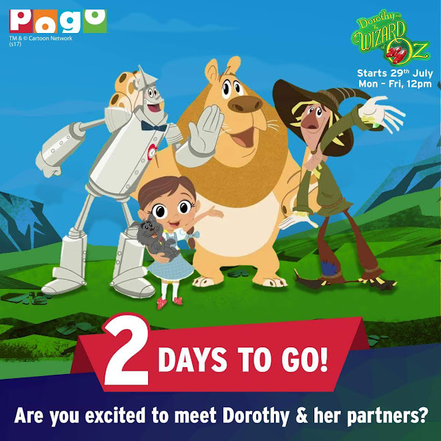 'Dorothy & the Wizard of Oz' on Pogo Tv Show Wiki Plot, Characters,Timing,Promo
