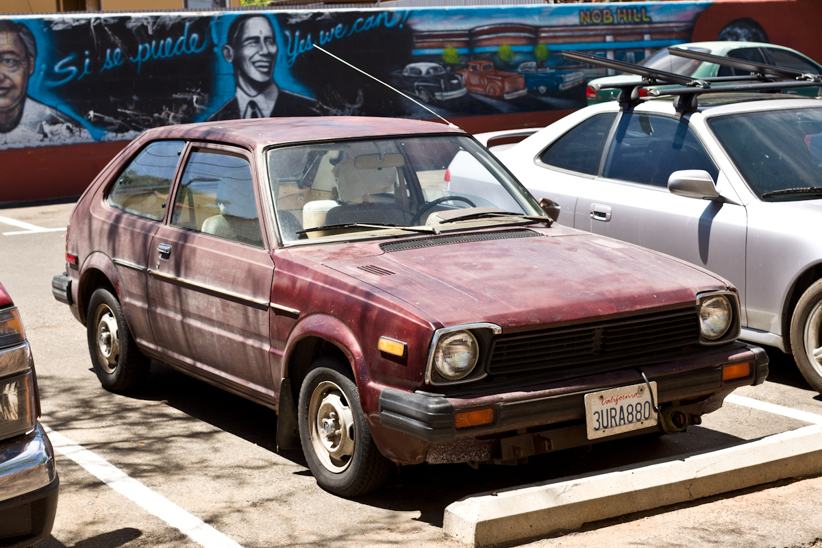 THE STREET PEEP: 1980 Honda Civic