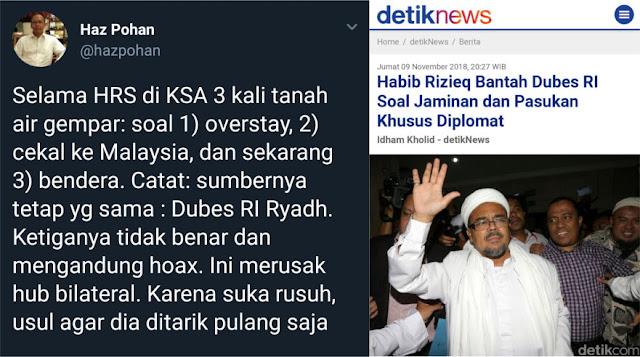 Mantan Dubes Sarankan Jokowi Tarik Dubes RI di Saudi, Ini Alasannya