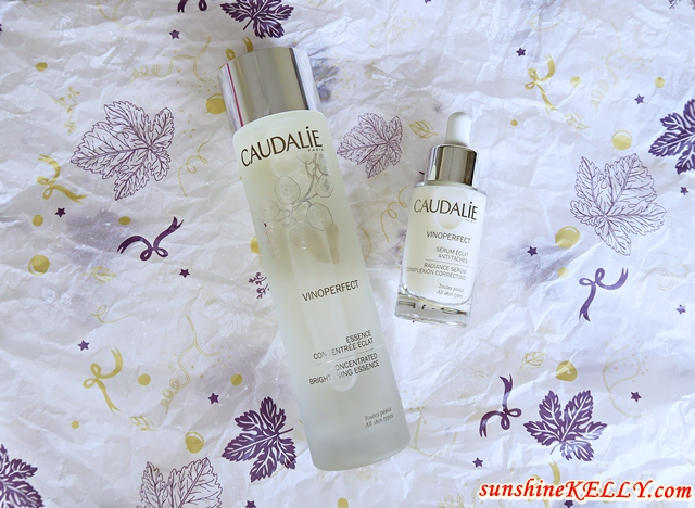Caudalie Vinoperfect Concentrated Brightening Essence, Caudalie Radiance Serum Complexion Correcting