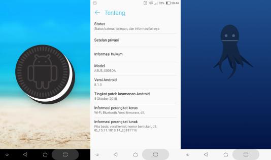 Cara Upgrade Asus Zenfone 3 Max ke Android Oreo 8.1.0