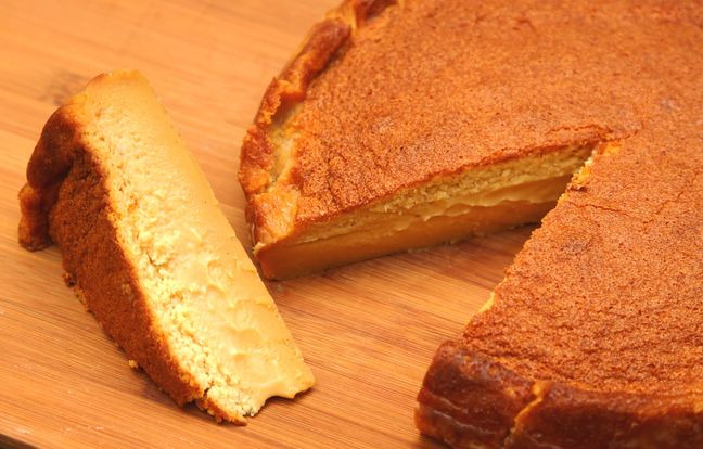 Magic salted butterscotch caramel cake