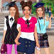 تحميل لعبة  كلية البنات لعبة تلبيس بصيغةapk