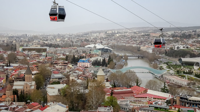Cable Cars in Tbilisi